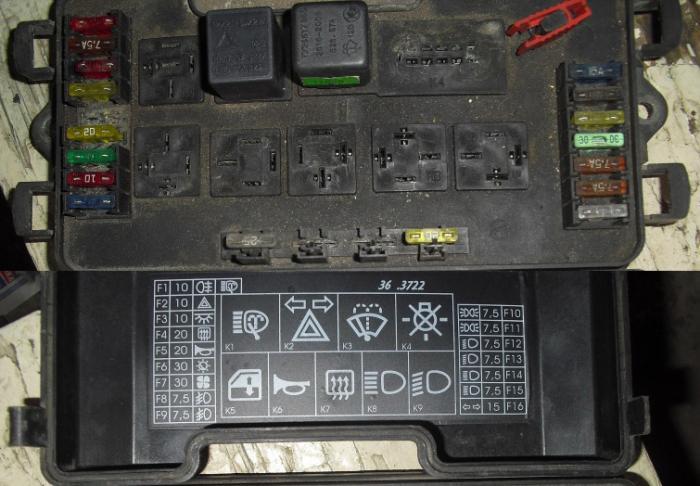 Блок предохранителей ВАЗ-2114