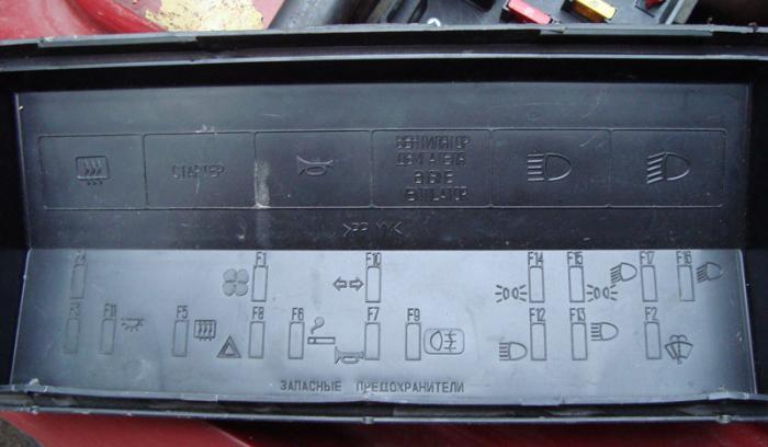 Схема и расположение предохранителей ВАЗ-2107, ВАЗ-2105 и ВАЗ-2104
