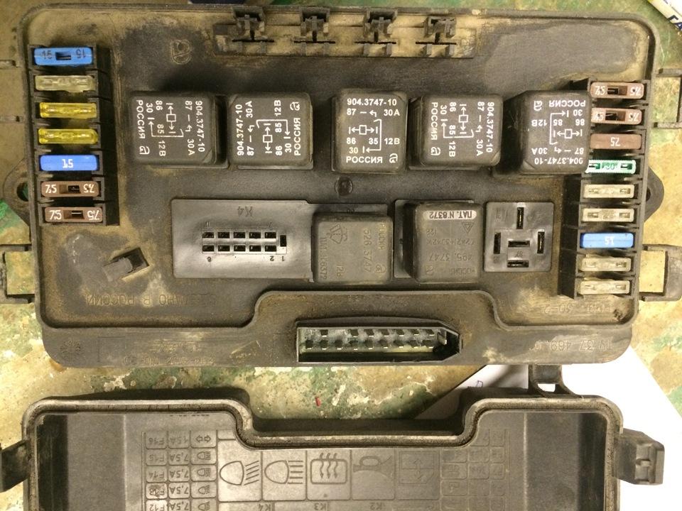 Блок предохранителей ВАЗ 2114 - схема, расположение, подключение